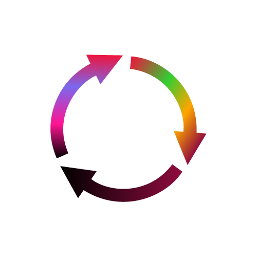 Circle made of arrows - Ecommerce Development Approach Image - Bigger
